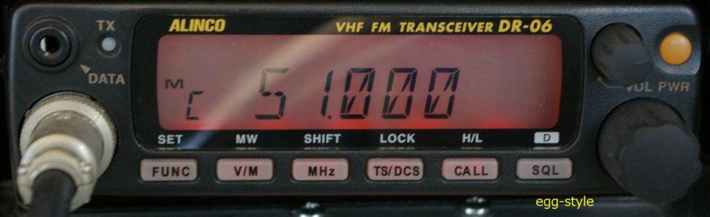 アマ無線50MHzモバイル機