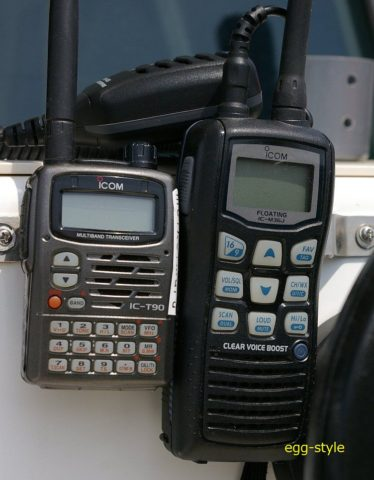 50MHzと国際VHF ハンディー機