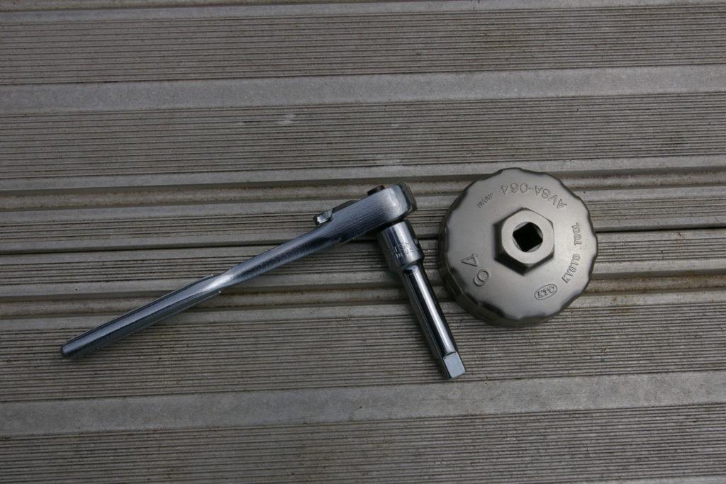 エレメントレンチは64mmを使用した