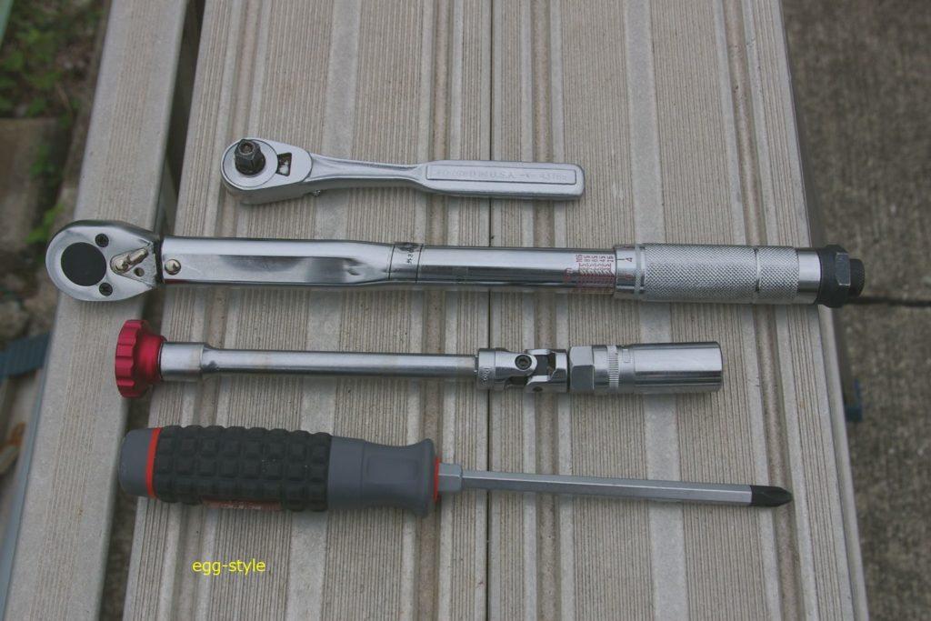スパークプラグ交換用工具