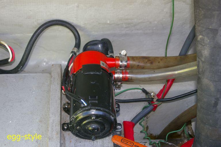 ビルジ排水用ビルジポンプ