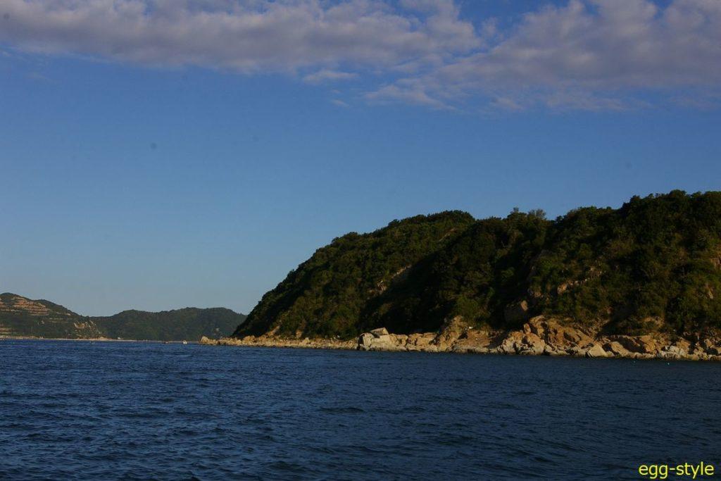 家島諸島男鹿島南西のポイント