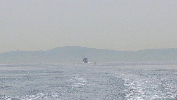 海上自衛隊の艦のシルエット