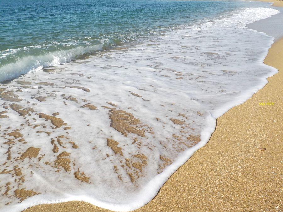 明石市江井ヶ島海岸の美しい砂浜