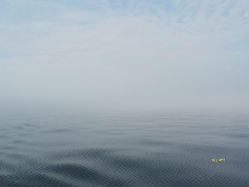 霧は怖い、東西南北不明
