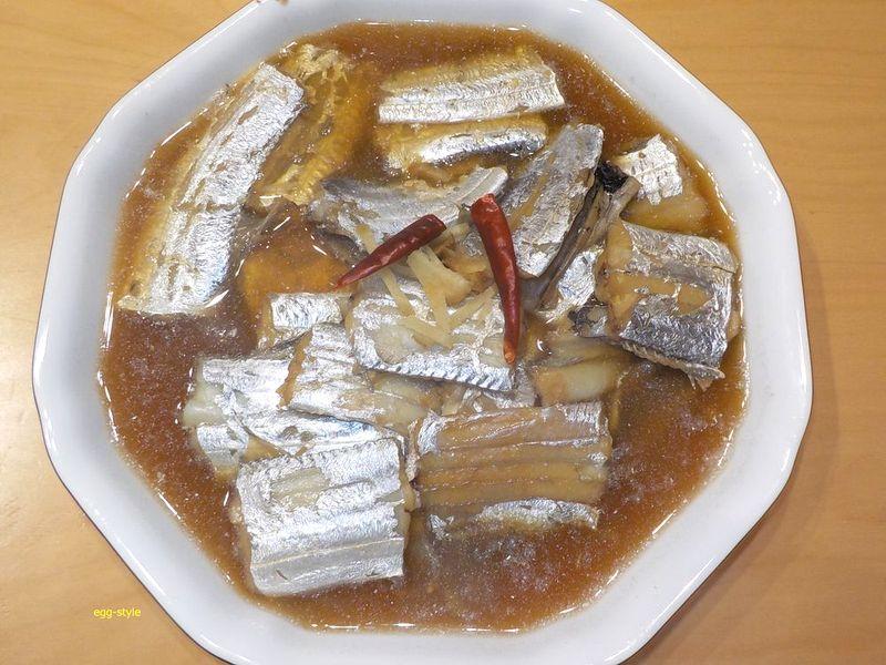 タチウオ薄味で煮付ける