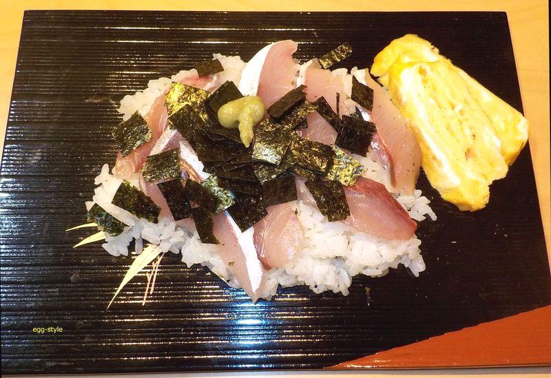 ハマチのばら寿司