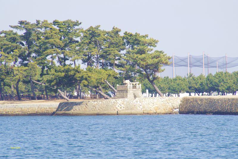 高砂向島砲台跡