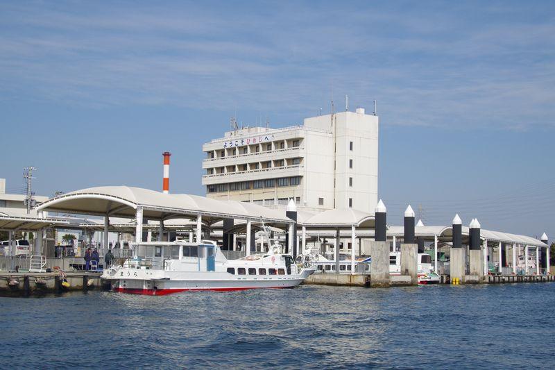 飾磨港 家島諸島の連絡船