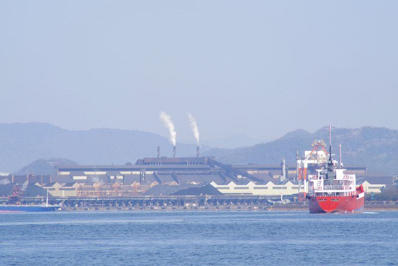 新日鐵住金広畑製鉄所の巨大な景観