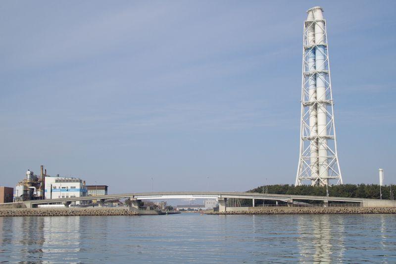中島水路入口