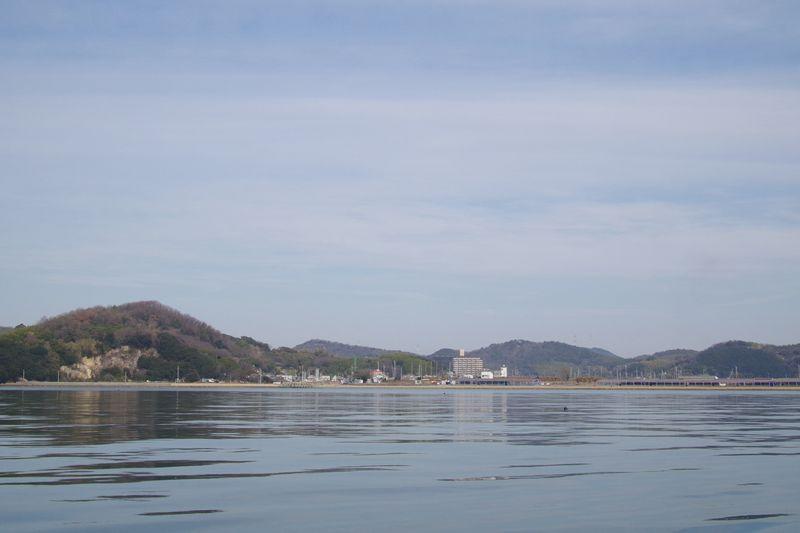 姫路市的形海岸