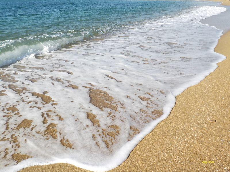 明石江井ヶ島海岸のきれいな砂浜