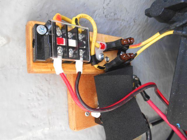 常時通電電源の供給端子