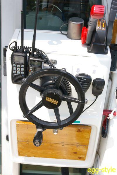 ハンディ機は釣りをしながら使う