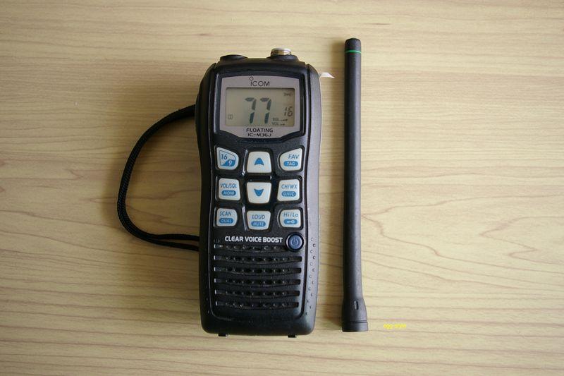 国際VHF無線ハンディ機