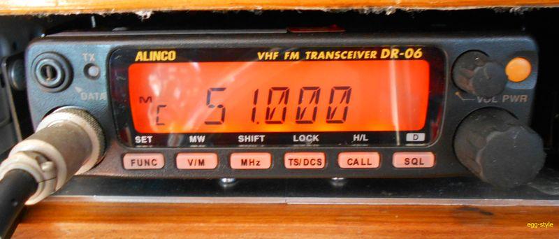 アマチュア無線50MHzトランシーバー