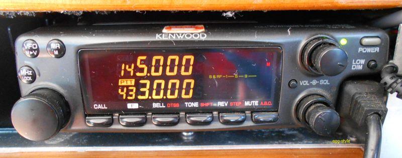 アマチュア無線144-430MHzトランシーバー