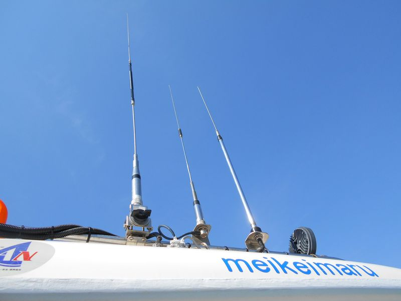 50MHz 145-430MHz 国際VHF用各種アンテナ