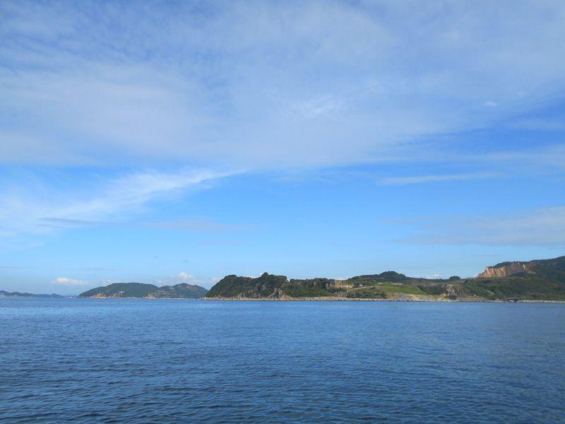 風光明媚な家島諸島 豊かな海になってほしい