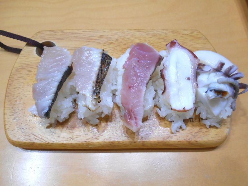 寿司にする 白身の魚のようだ