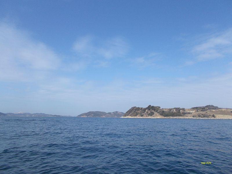 風光明媚な家島諸島は良い釣り場です。定番のタイポイント