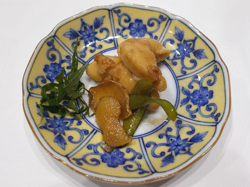 鯛の白子 甘辛く煮つけると、相当な美味だ